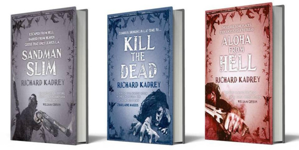 Sandman Slim, Kill the Dead, Aloha From Hell, UK paperbacks