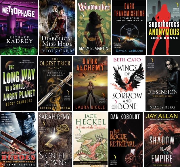 Free SFF Reads If You're Missing Phoenix Comic Con!