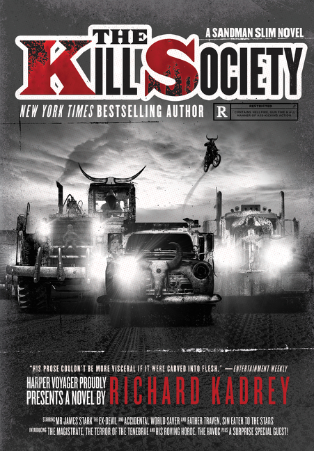 The Kill Society by Richard Kadrey is on sale today!