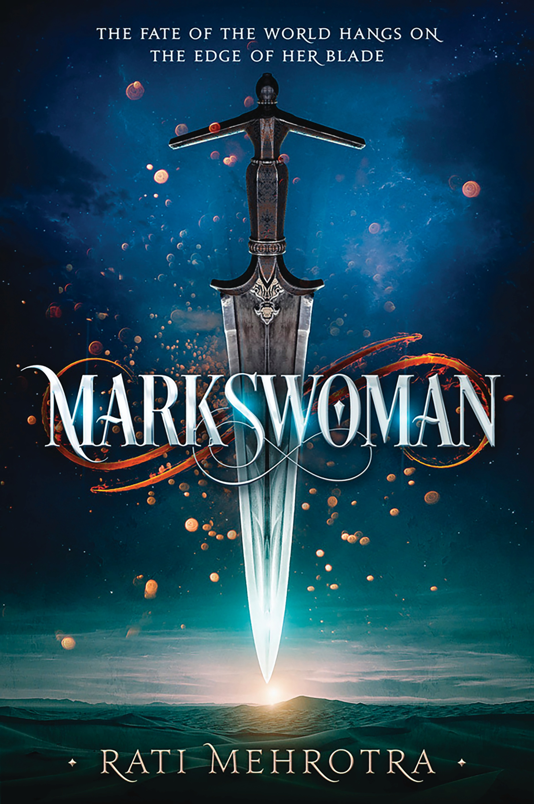 Cover Reveal: MARKSWOMAN by Rati Mehrotra
